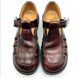 Dr. Martens Vintage T-strap MaryJane Buckle Shoes